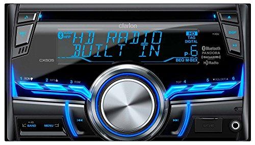 Clarion CX505 2-Din HD Radio/Bluetooth/CD/USB/MP3/WMA Receiver (Clarion Car Stereo Remote compare prices)
