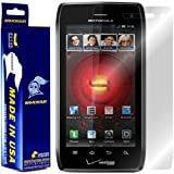 ArmorSuit MilitaryShield - Motorola Droid 4 Screen Protector Shield + Lifetime Replacements