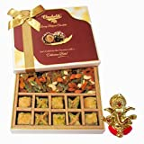 Baklava & Cocktail Dry Fruit Box With Ganesha Idol - Diwali Gifts - Diwali Gifts