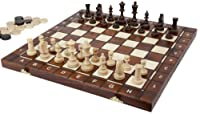 """Senator"" Chess, Checkers and Backgammon Set"