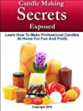 Candle Making Secrets Exposed - Learn How To Make Professional Candles At Home For Fun And Profit (English Edition)