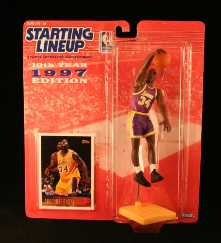 "Starting Lineup Nba "" Shaquille O'neal 1997(lakers) [Toy]"