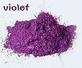 30g Healthy Natural Mineral Mica Powder Diy For Soap Dye Soap Colorant makeup eyeshadow Soap Powder (violet)