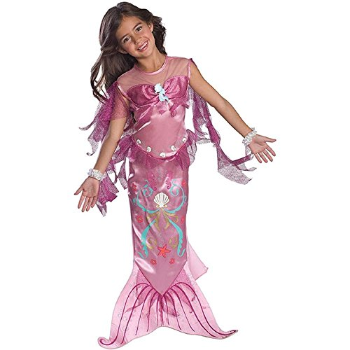 Pink Mermaid Kids Costume