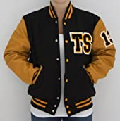 Black & Gold TS Letterman Tour Jacket