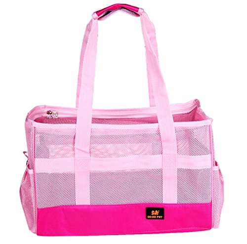 Goldwheat Airline Approved Pet Carrier for Small Dog Cat, Pink