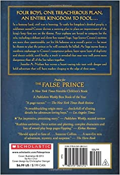 amazoncom the false prince book 1 of the ascendance