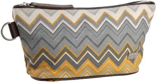 Saltbox Zigzag Cosmetic Bag
