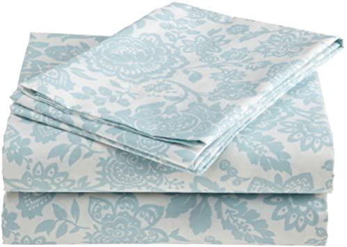 Stunning Laura Ashley Prescot Percent Cotton Sheet Set