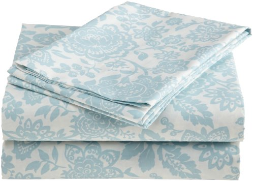 Laura Ashley Prescot 100-Percent Cotton Sheet Set, King front-1022330