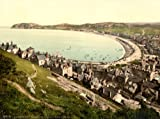 Vintage British Isles Photography WALES, LLANDUDNO IN CONWY c1890-1900 From the Great Orme's Head Reproduction Print on 200gsm A3 Satin Art Card