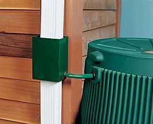 Downspout Diverter, Green