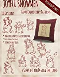 img - for Joyful Snowmen Hand Embroidery Patterns book / textbook / text book