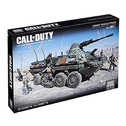 Mega Bloks Call of Duty Combat Vehicle Attack Buil...