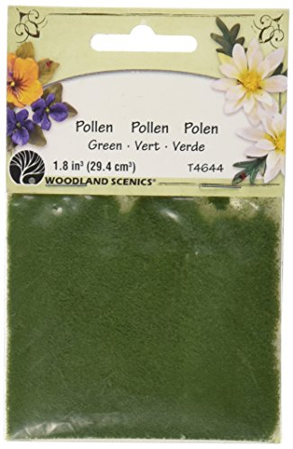 Woodland Scenics T46-44 Pollen, 1-Ounce, Green