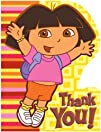Dora and Friends Thank You Cards 8 count