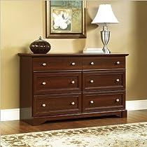 Hot Sale Sauder Palladia Dresser, Select Cherry Finish