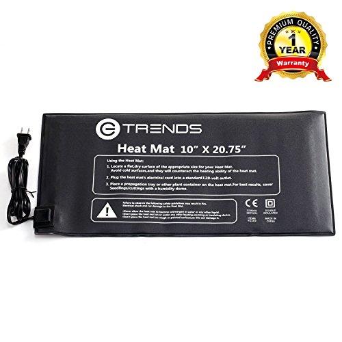 #1 Seedling Heat Mat, E-TRENDS 10