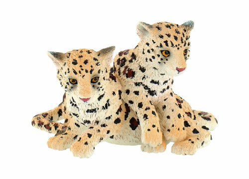 Bullyland - Bullyland Animal World Figure Leopard Baby Group 6,5 cm