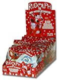 Flix Candy Rudolph Lip Pops Lollipops, 1-Count Lollipops (Pack of 24)