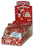 Flix Candy Rudolph Lip Pops Lollipops, 1-Count Lollipops (Pack of 24)