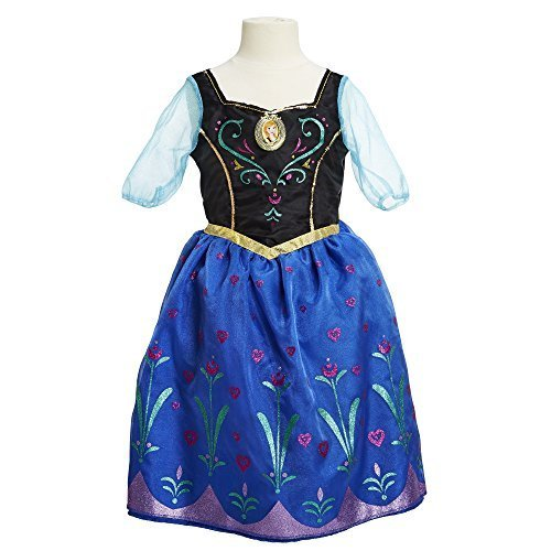 Disney Frozen Anna Dress Size 4-6x - 1