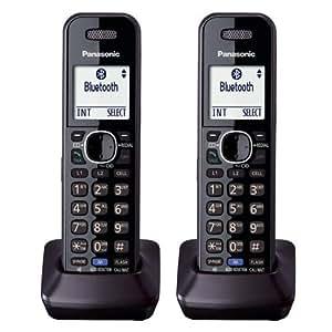 Panasonic KXTGA950B Dect 6.0 Handset 2-Line Landline
