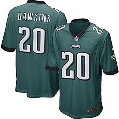 "Mens Philadelphia Eagles Brian Dawkins ""Ships from USA"" Nike Game Jersey"