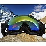 Cyclops Gear CGAVALANCHEBLK Cyclopsgear Cgavalancheblk Snow Goggles 1080p Hd Cam Black