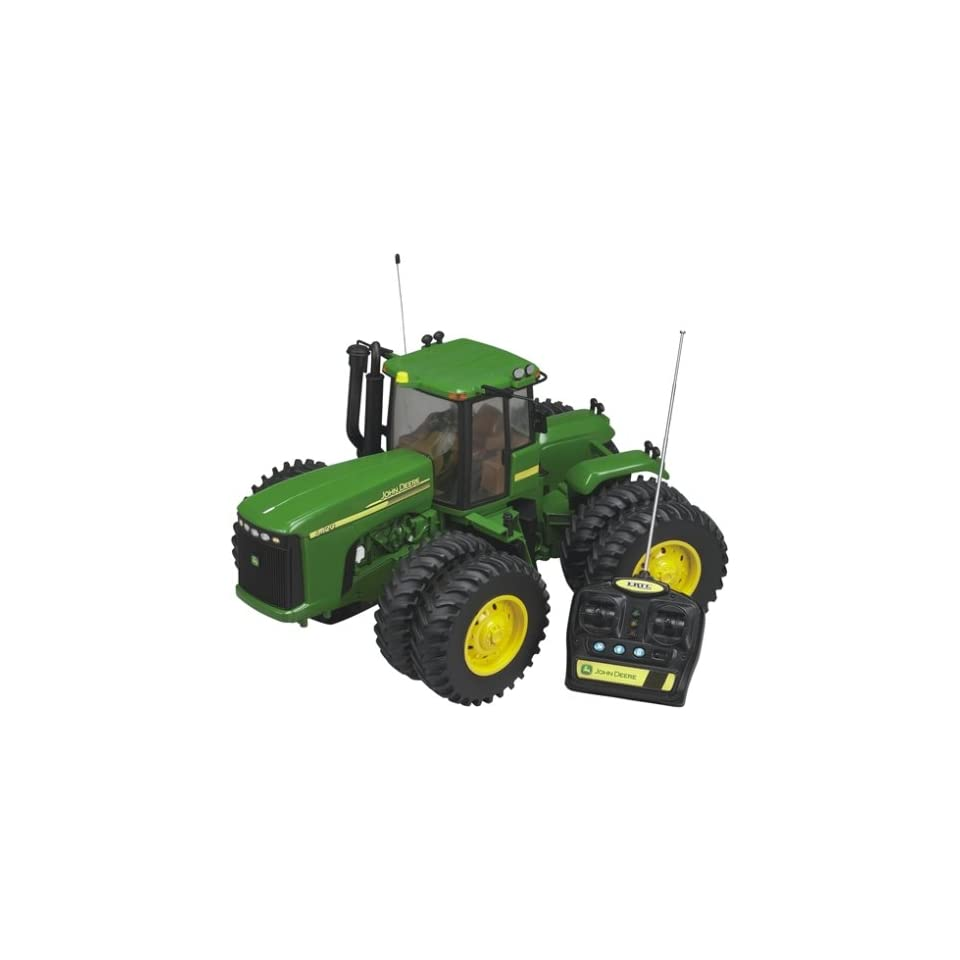Remote Control John Deere Combine : Britains remote control john deere tractor on