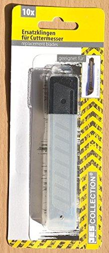10-Ersatzklingen-fr-Cuttermesser-Abbrechklingen-fr-handelsbliche-Cutter-Stahl-gehrtet-14-mm-Cutter-Hobbymesser-Teppichmesser
