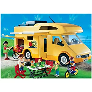 Amazon.com: Playmobil Family Camper by Playmobil: Toys & Games