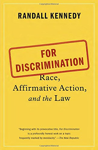 an argument that affirmative action is discrimination Affirmative action has provided women with opportunities they were previously denied despite their merit poll after poll concludes that americans firmly support affirmative action to.