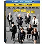 [US] Now You See Me (2013) Extended Edition [Blu-ray + DVD + UltraViolet]