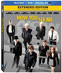 Now You See Me (Extended Edition) [Blu-ray]