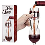 #1 BEST Wine Aerator Decanter ★ Lifetime Moneyback Guarantee ★ FDA Approved ★ The Only Wine Aerator with a Full 360 Degrees Air Flow Aeration ★ Professional Commercial Grade Wine Aerator ★ Easy to Use and Clean ★ Best Wine Breather Gift Choice!