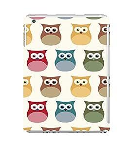 EPICCASE Colorful Owls Mobile Back Case Cover For Apple Ipad Mini (Designer Case)
