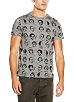 Desigual Camiseta Manga Corta Ordinary Tee People (Gris)