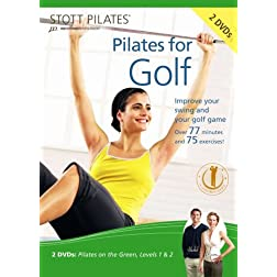 Stott Pilates Pilates for Golf DVD (Set of 2)