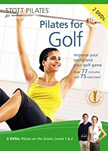 STOTT PILATES Pilates for Golf DVD 2 DVD Set by STOTT PILATES