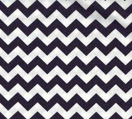 Chevron Crib Sheets back-649883