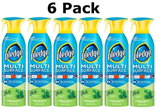 pledge-multi-surface-cleaner-spray-with-glade-shimmering-spruce-97-oz-6-pack