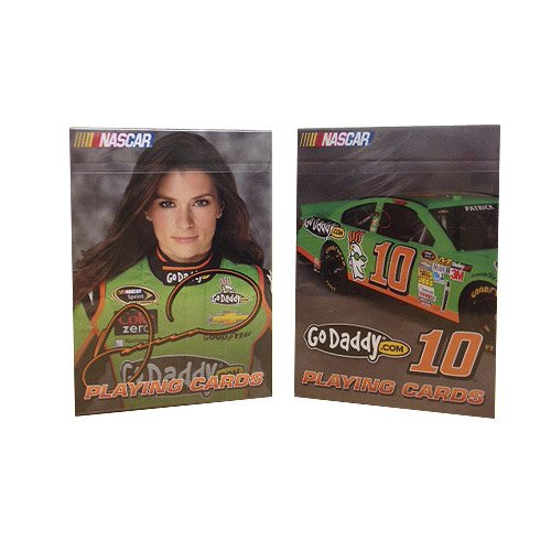 Nascar Playing Cards: Danica Patrick - Set of 2 Decks