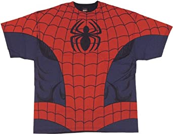 "Spider-Man ""Costume"" T-Shirt, X-Large"