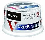 SONY ビデオ用DVD-R 追記型 CPRM対応 120分 16倍速 プリンタブル 白 50枚スピンドル 50DMR12MLPP