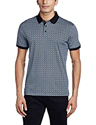 Arrow Men's Cotton (T-Shirt 98907259827896_AKRF8208_XL HS_Black)