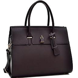MyLUX Fashion Designer Handbag 0326 Coffee