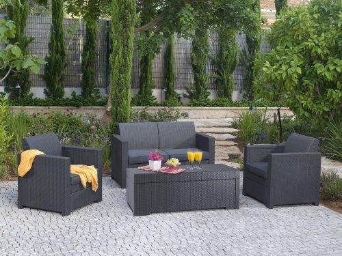 Gartenmöbel set günstig  Günstige Gartenmöbel Sets – Keter Sitzgruppe Gartenmöbel Set ...