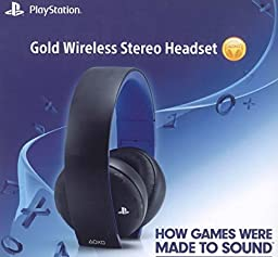 Gold Wireless Stereo Headset