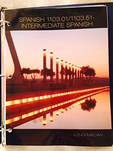 Spanish 1103.01/1103.51 Intermediate Spanish